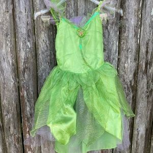 Disney Tinkerbell dress with light up wings